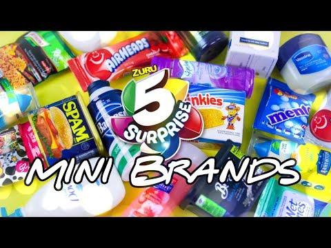 Unbox Daily: All New ZURU 5 Surprise Mini Brands PLUS DIY