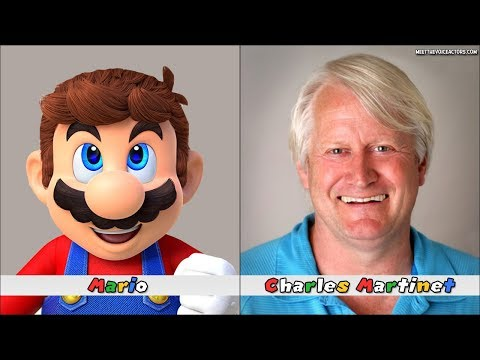 Super Mario Odyssey Characters Voice Actors