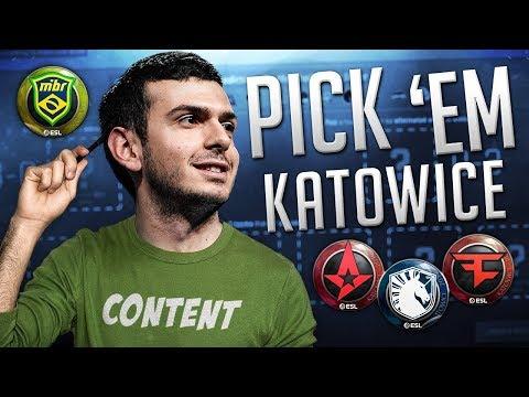Tarik's Pick'em Predictions IEM Katowice