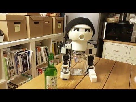 Robot Drinky: Drinking Robot (Korean Alcohol Soju buddy)
