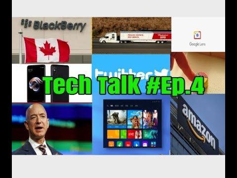 Tech Talk #Ep.4/self driving truck/Worlds Richest man/chrome 65/whatsapp/Google lens   wanted guyz