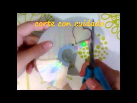 Manualidades con cds youtube - Manualidades con cd viejos ...
