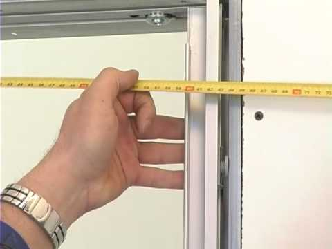Glass-aluminium doors