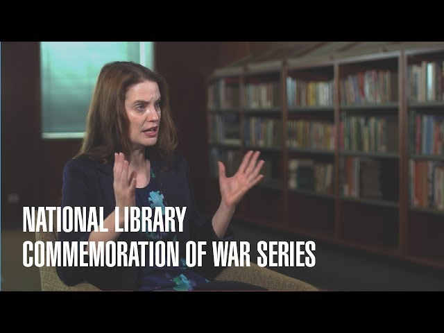 National Library Commemoration of War - Jen Wellington