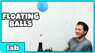 Science Experiments That You Can Do At Home -  Floating Balls Science Experiment