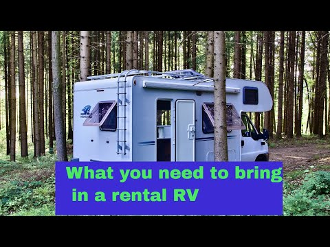RV Rental - What You Need To Bring
