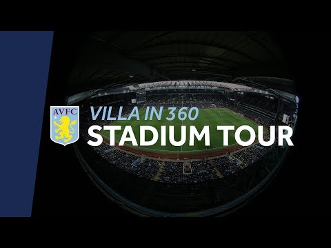 Villa Park in 360: Behind-the-scenes on matchday