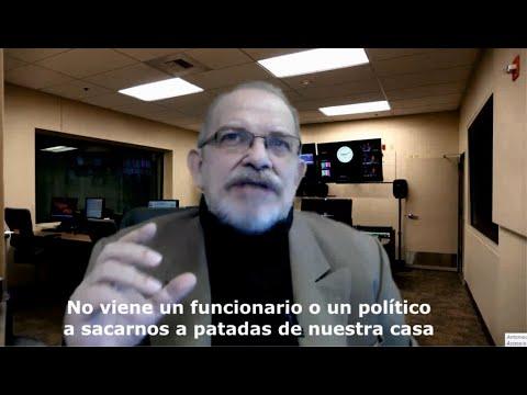 Antonio Rico: No va a venir un político a sacarte a patadas de tu casa