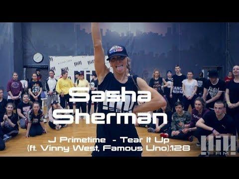 SASHA SHERMAN // J PRIMETIME - TEAR IT UP // SOLO & DUETS