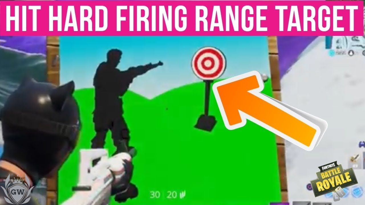 Fortnite Hard Firing Range