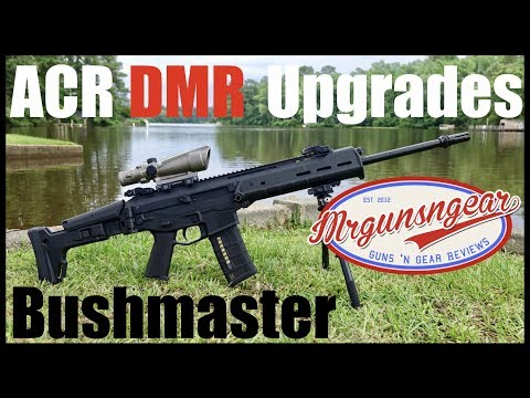 Bushmaster ACR Upgrades: 18'' CHF Barrel & Geissele Super ACR Trigger Review (HD)