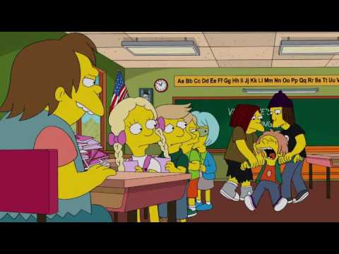 The Simpsons Bart Out Valentines Nelson Youtube