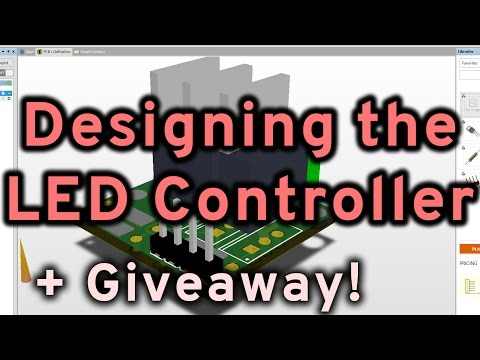 PCB Design: Designing the RGB LED Strip Controller + GIVEAWAY