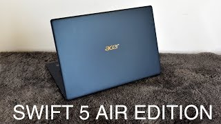 Đánh giá nhanh Acer Swift 5 Air Edition