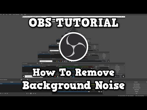 OBS: How to get rid of background microphone static! (2019)