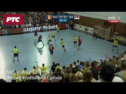 Rukomet: Rumunija – Srbija 22:23, kraj meča