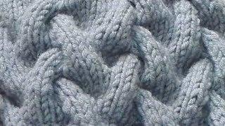 Узор спицами #2. Коса с тенью (Knitting Pattern)