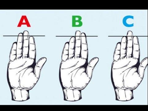 薬指よりも人差し指が長い人は…指の長さでわかる性格診断!