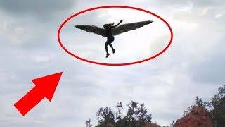 أشهر فديوهات تصور ظهور الملائكة في الحقيقة  2017