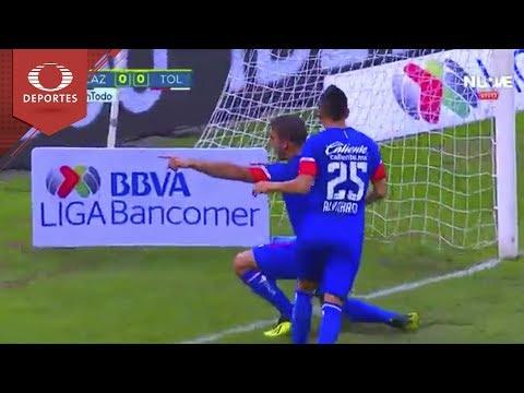 Gol de Caute | Cruz Azul 1 - 0 Toluca | Liga Mx - A 2018 J - 6 | Televisa Deportes