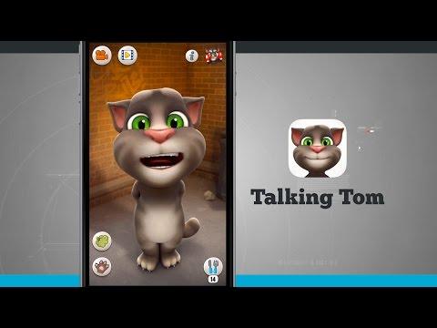 Talking Tom IPhone App Demo