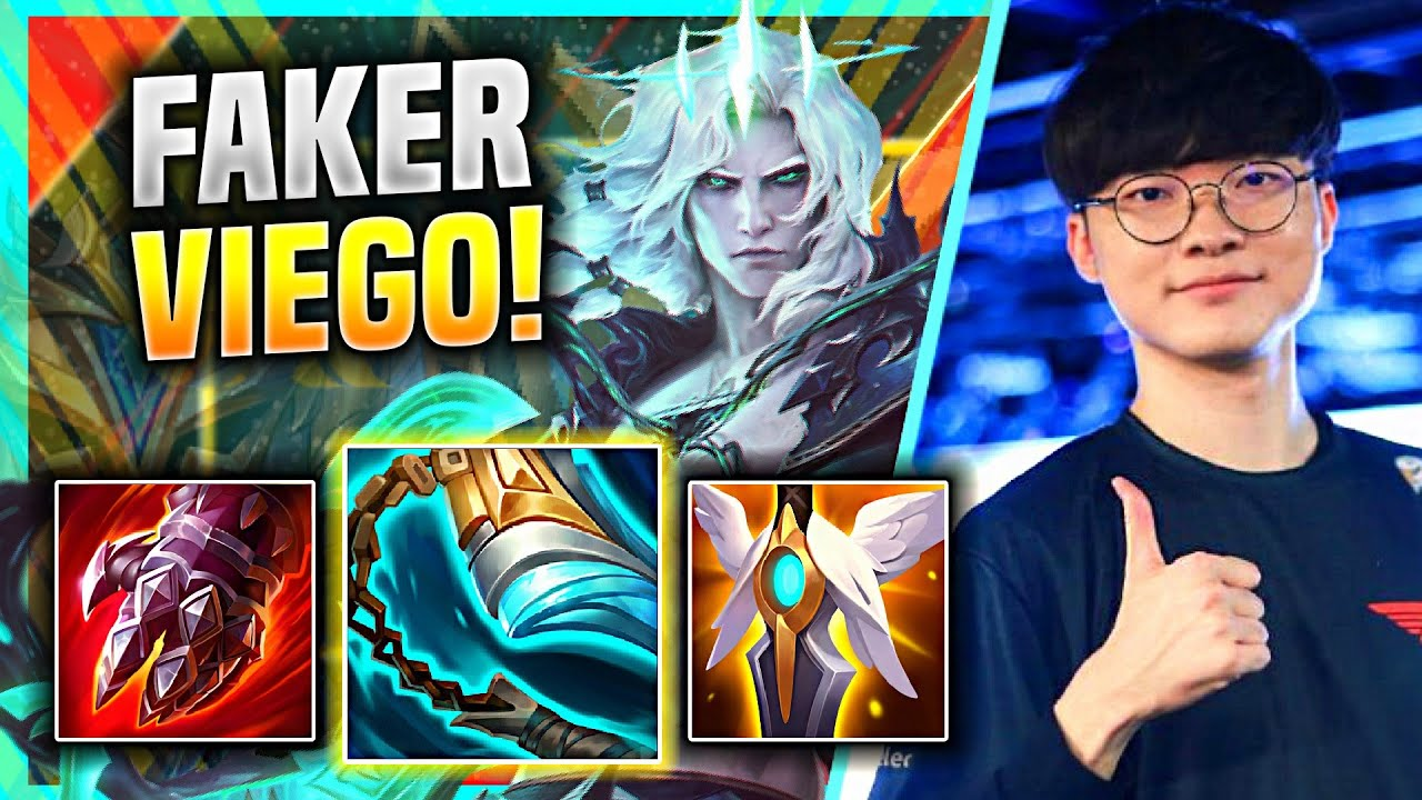 FAKER IS SO CLEAN WITH VIEGO MID! - T1 Faker Plays Viego Mid vs Xerath! | KR SoloQ Patch 11.8