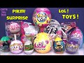 PIKMI LOL Confetti POP Surprise Toys UNBOXING EGGS MLP BLIND BAGS KIDS Fun