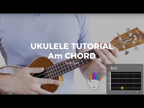 Ukulele Tutorial - Am Chord