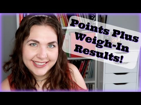Weigh In Results On Weight Watchers POINTS PLUS | Week 1 Without Freestyle | Details On Points Plus