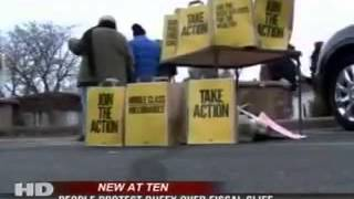 WEAU(NBC)La Crosse,WI covers national day of TheAction.org: Middle Class Over Millionaires