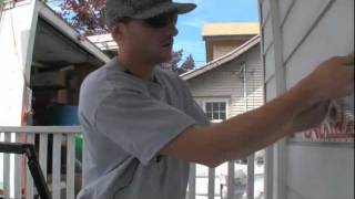 Removing Aluminum Siding