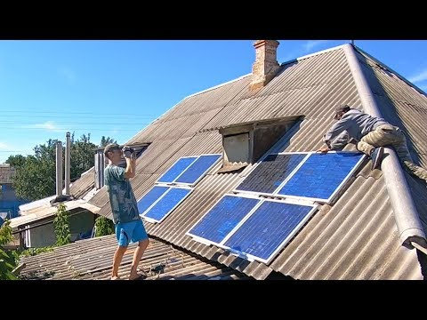 Free Energy For Entire House / Cheap Giant and Mighty Solar Power Plant - DIY