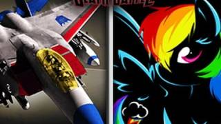 REMASTERED - Starscream VS Rainbow Dash