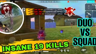 How To Get Free Magic Cube| And Gun Skins | Duo Vs Squad Insane Kills Garena Free Fire