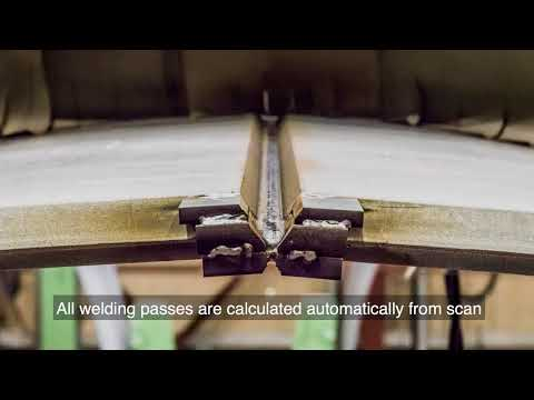 Inrotech Welding Robot with Adaptive Multipass Welding Technology (AMWT)