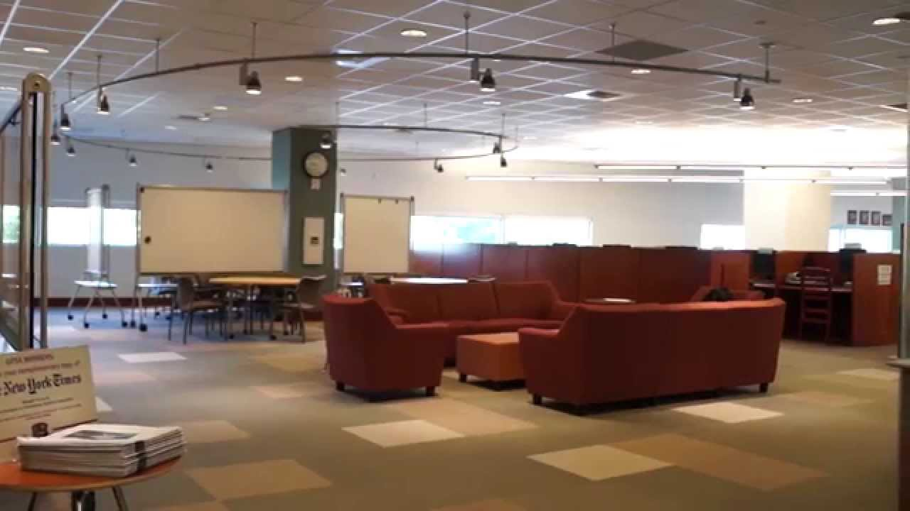 Charmant UNLV Lied Library   Graduate Students Area Commons Transformation   YouTube