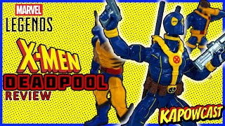 MARVEL LEGENDS X-MEN DEADPOOL FIGURE REVIEW | STRONG GUY BAF