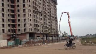 Tiến độ dự án Chung Cư The Golden An Khánh Tòa T2, Huyện Hoài Đức, Hà Nội Tháng 1/2016