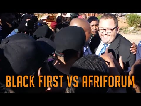 Black First Land First (BLF) vs Afriforum | South Africa (2018)