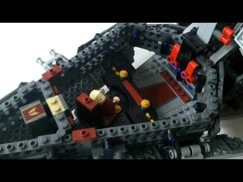 lego star wars 2009 venator class republic attack cruiser 8039 review - Lego Star Wars Vaisseau Clone
