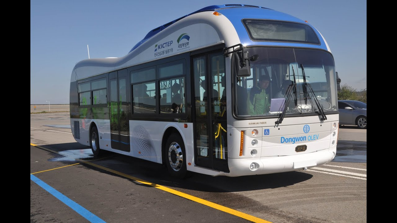 World S First Road Embedded Wireless Electric Bus Network