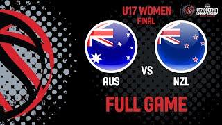 Australia v New Zealand - Full Game - FIBA U17 Women's Oceania Championship 2019