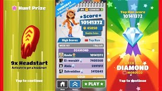 Subway Surfers Morocco Best Score!