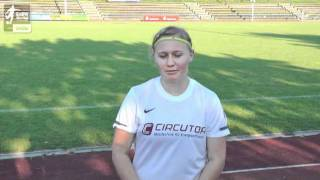 B-Juniorinnen TSV 05 Reichenbach Kristin Czech