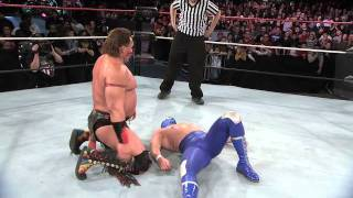 Blue Demon Jr. vs. Tatanka