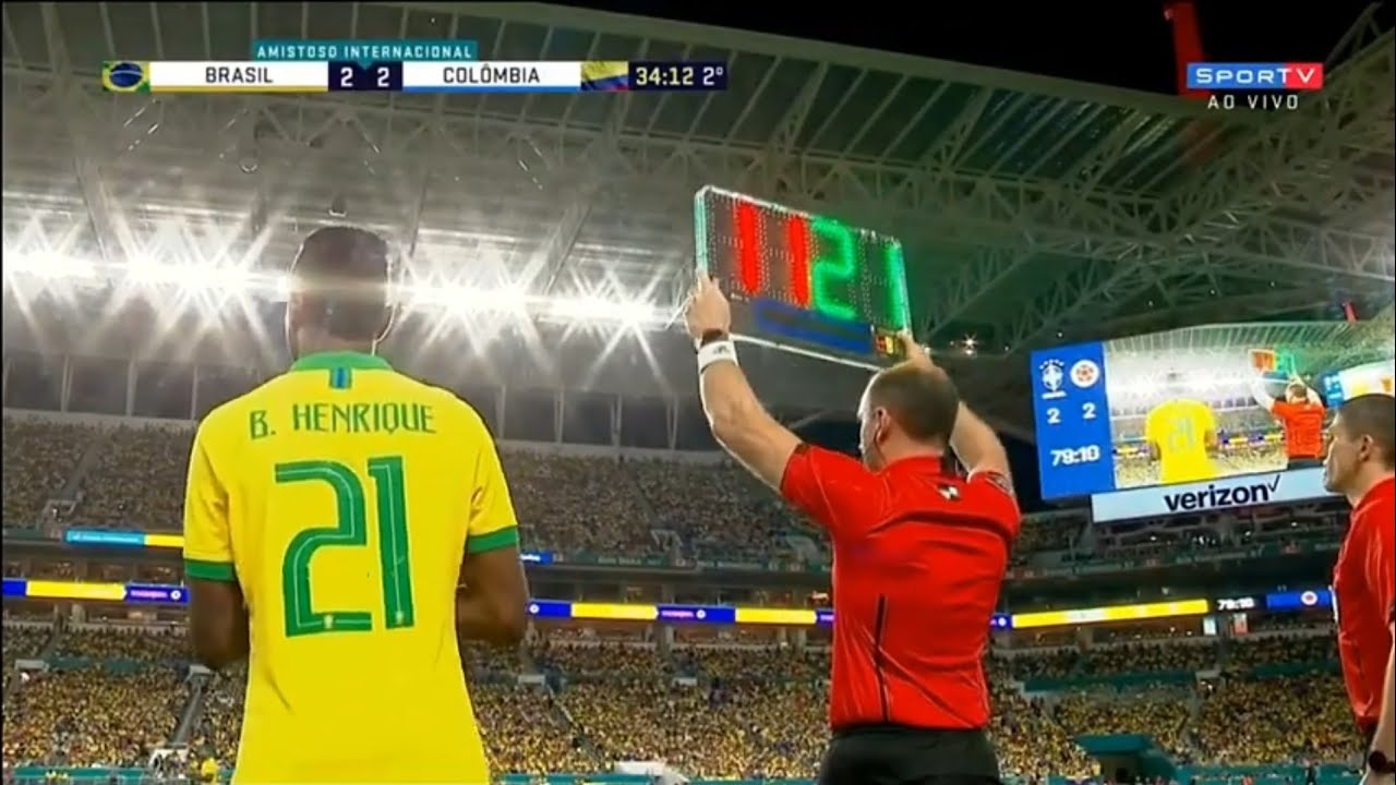 Bruno Henrique vs Colômbia [Estréia] (06/09/19) HD 720