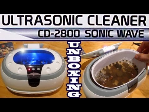 Ultrasonic Cleaner UNBOXING + Test Clean Silver Jewelry Tarnish Remove Dirt Coins