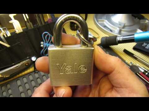 Взлом отмычками Yale    (261) Yalemate Challenge Padlock by AndyH97 ()