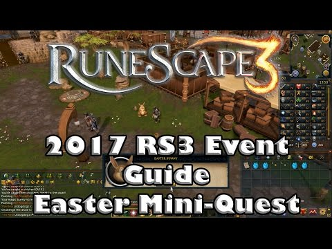 RS3 Event Guide - 2017 Easter Miniquest - The Cotton Tales!