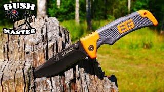 Нож выживания  Gerber Bear Grylls Scout (Survival knife)(В этом видео я расскажу об одном из моих любимых складных ножей Gerber Bear Grylls Scout. Также я покажу отличия между..., 2016-08-28T07:00:03.000Z)